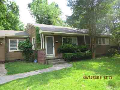 Jackson Single Family Home For Sale: 615 Benning Rd