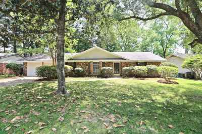Hinds County Single Family Home Contingent/Pending: 5336 Red Fox Rd