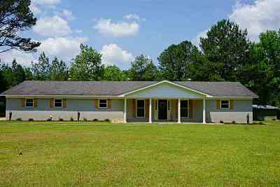 Neshoba County Single Family Home For Sale: 11461 County Rd 325
