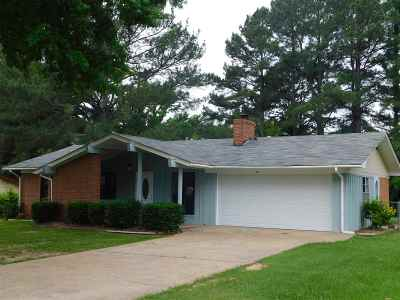 Carthage MS Single Family Home For Sale: $119,900