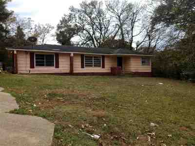 Hinds County Single Family Home For Sale: 3927 Faulk Blvd #1