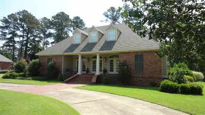 Magee Single Family Home For Sale: 105 Lakeview Dr