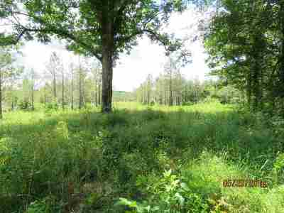 Attala County Residential Lots & Land Contingent/Pending: Attala County Road 5003