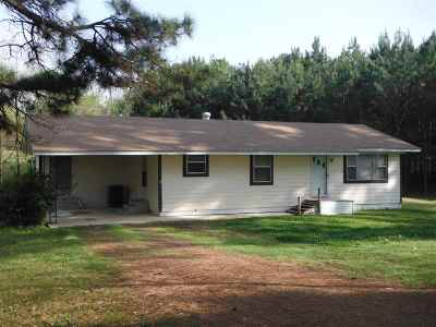 Carthage MS Single Family Home For Sale: $79,000