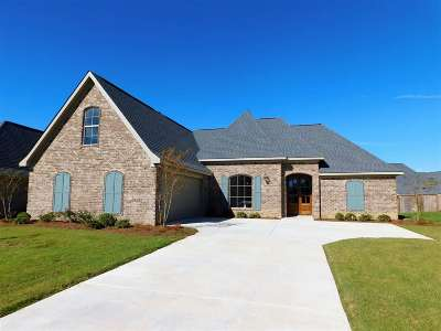 Flowood Single Family Home Contingent/Pending: 409 Duke Ct