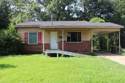 Hinds County Single Family Home For Sale: 2611 Utah St