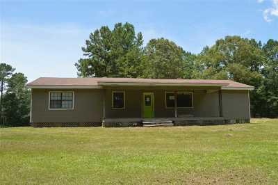 Neshoba County Single Family Home Contingent/Pending: 10101 County Rd 2624