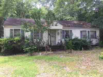 Byram Single Family Home Contingent/Pending: 5581 Terry Rd