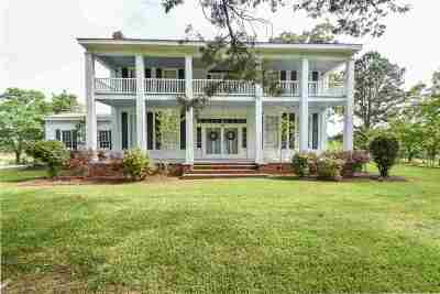 Hinds County Single Family Home For Sale: 6046 Lebanon Pine Grove Rd