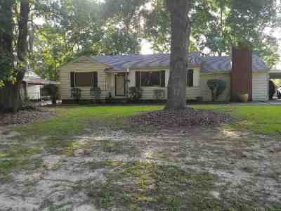 Jackson Single Family Home For Sale: 5417 Mimosa Dr