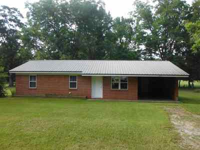 Lena MS Single Family Home For Sale: $74,900