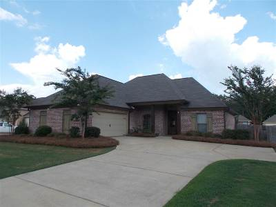 Flowood Single Family Home For Sale: 153 Britton Cir