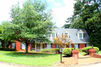 Hinds County Single Family Home For Sale: 127 Countrywood Cir