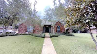 Flowood Single Family Home Contingent/Pending: 22 Windwood Cv