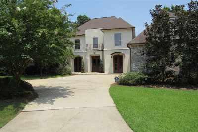 Madison Single Family Home For Sale: 162 Ashton Park Blvd