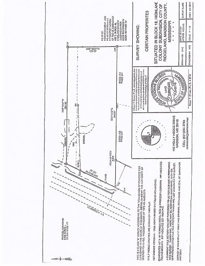Ridgeland Residential Lots & Land For Sale: Hwy 51 Hwy