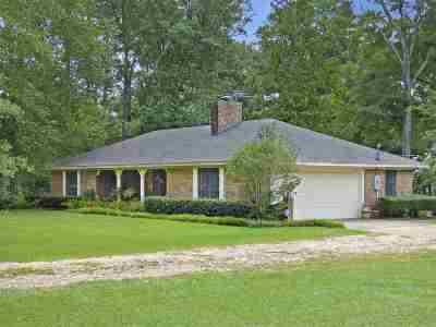 Rankin County Single Family Home Contingent/Pending: 670 Oak Ridge Rd