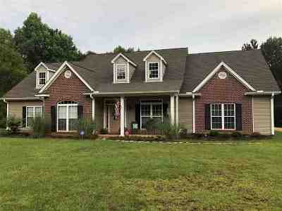 Mendenhall Single Family Home Contingent/Pending: 172 Newsome Rd