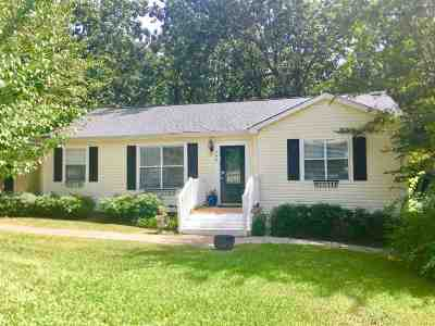 Clinton Single Family Home Contingent/Pending: 608 Oakwood Dr