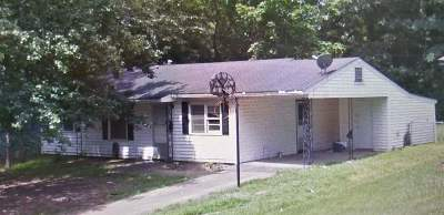 Jackson Single Family Home For Sale: 2845 Charleston Dr