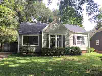Hinds County Single Family Home For Sale: 1608 Lyncrest Ave