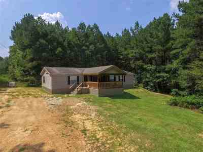 Rankin County Mobile/Manufactured Contingent/Pending: 1733 Shiloh Rd