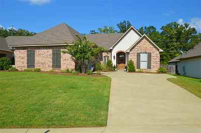 Flowood Single Family Home For Sale: 230 Grace Dr