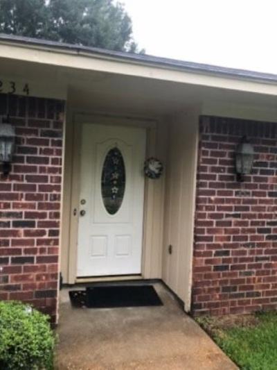 Jackson Single Family Home For Sale: 6234 Tanglewood Dr
