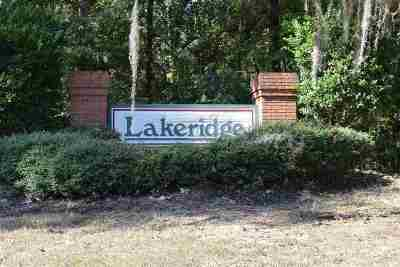 Clinton Residential Lots & Land For Sale: Lakeridge Cv
