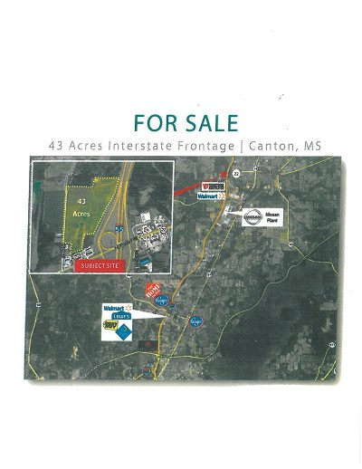 Madison County Residential Lots & Land For Sale: 1 W Hwy 22
