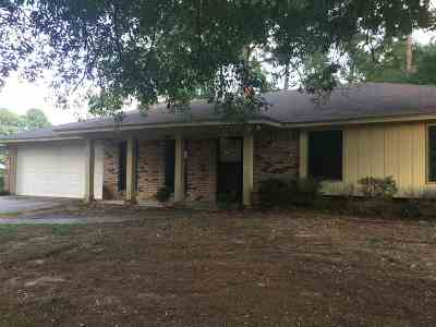 Hinds County Single Family Home Contingent/Pending: 163 Sharon Hill Dr