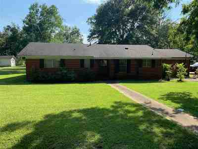 Walnut Grove MS Single Family Home For Sale: $65,900