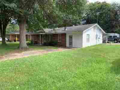 Carthage MS Single Family Home For Sale: $89,900