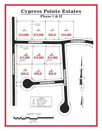 Magee MS Residential Lots & Land For Sale: $11,000