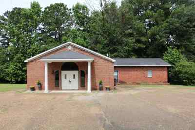 Attala County Commercial For Sale: 639 Tipton St