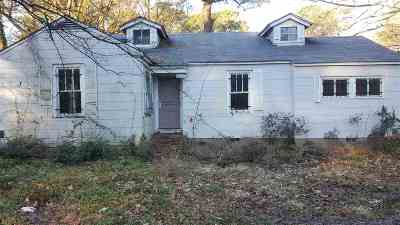 Jackson Single Family Home For Sale: 2337 Belvedere Dr