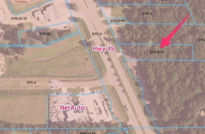 Florence, Richland Residential Lots & Land For Sale: 842 Hwy 49 South Hwy