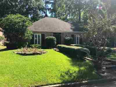 Jackson Single Family Home For Sale: 6114 Lyn Ln