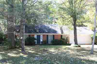 Jackson Single Family Home For Sale: 5907 Kristen Dr