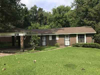 Jackson Single Family Home For Sale: 1755 Camellia Ln