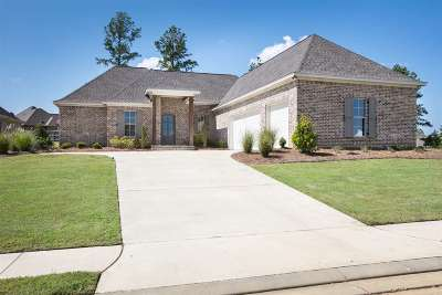 Madison County Single Family Home For Sale: 113 Camden Lake Dr #lot 716