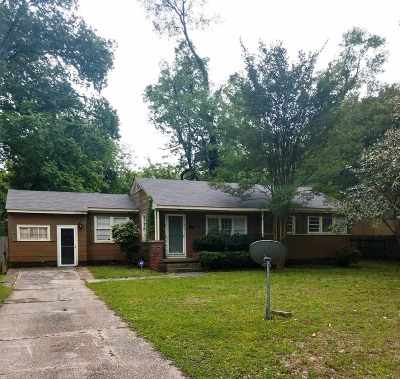 Hinds County Single Family Home For Sale: 615 Benning Rd