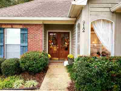 Rankin County Single Family Home For Sale: 912 Bent Willow Commons