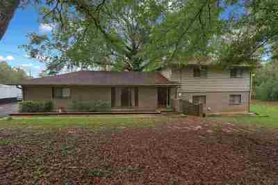 Hinds County Single Family Home For Sale: 1104 Lake Mimosa Dr