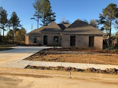 Hinds County, Madison County, Rankin County Single Family Home For Sale: 100 Hampton Trail