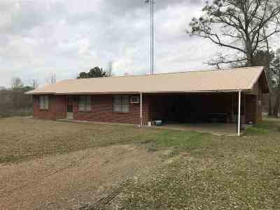 Walnut Grove MS Single Family Home For Sale: $73,900