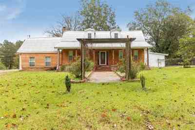 Hinds County Single Family Home For Sale: 17205 Hwy 18 Hwy