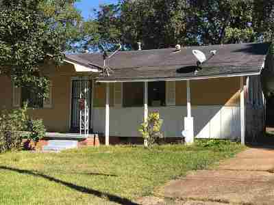Hinds County Single Family Home For Sale: 3536 Britton Ave