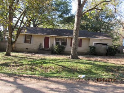 Hinds County Single Family Home For Sale: 2583 McDowell Cir