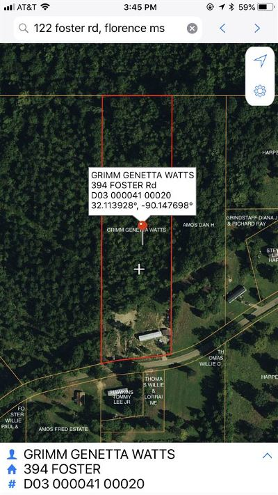 Florence, Richland Residential Lots & Land Contingent/Pending: 394 Foster Rd